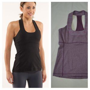 LULULEMON | Scoop Neck Tank Top Purple | Sz. 10